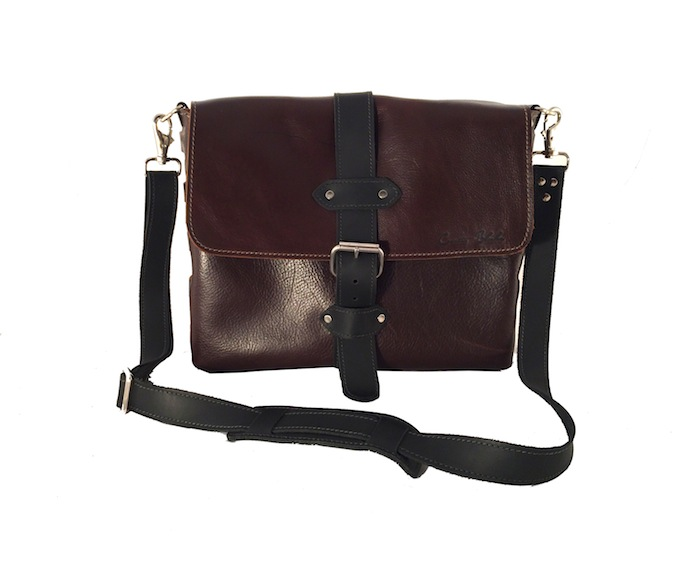 "13"" Dark Brown Messenger"