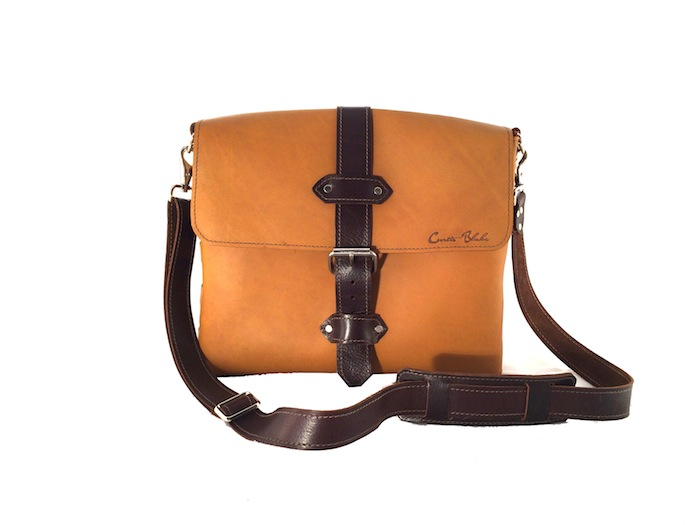 "13"" earthtone messenger"