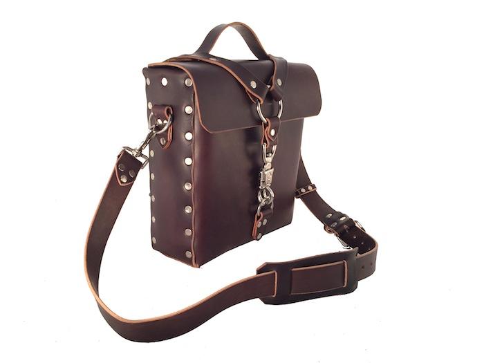 Brown Panic Snap Bag