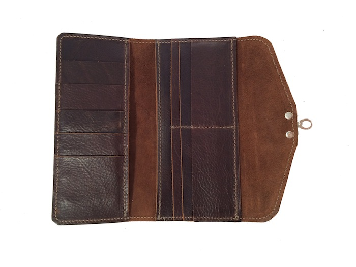 Dark Brown CC Wallet