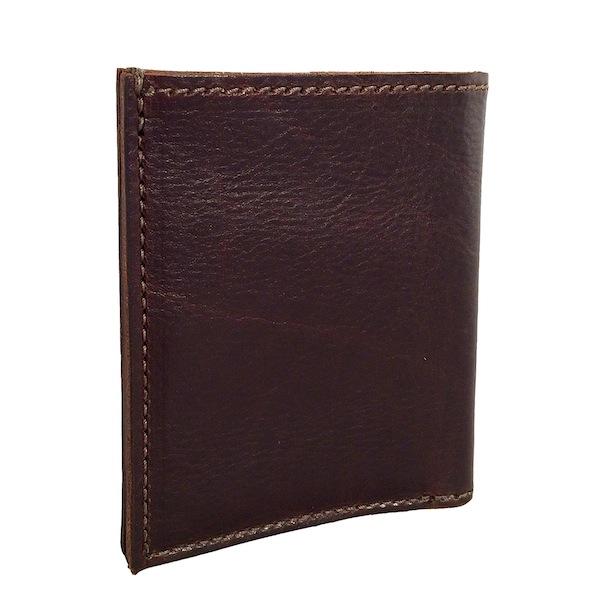 Dark Brown Pebble Bi-Fold Wallet