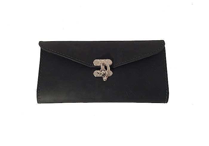 Black Claw Clasp Wallet
