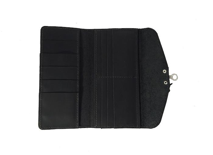 Black Claw Clasp Wallet