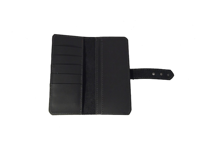 Tall and Slim Wallet - Black