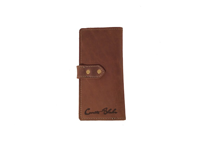 Chocolate Tall Slim Wallet