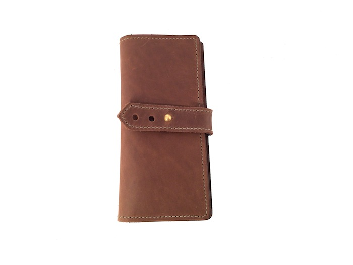 Tall aTall and Slim Wallet- Chocolatend Slim Wallet- Red