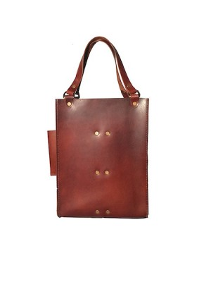 Double Wine Tote Chestnut1