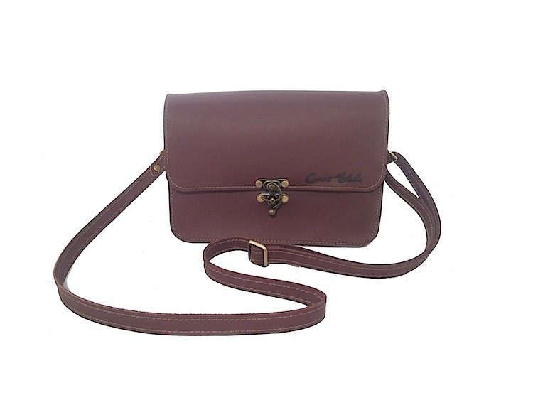 Medium Crossbody – Burgundy
