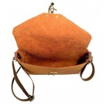 Earthtone Side Threaded Crossbody Purse